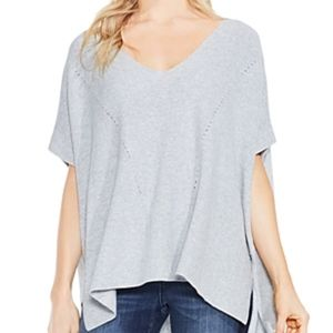 Two by Vince Camuto Short Sleeve Stitch Sweater SM